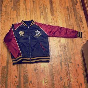 Mint Brand - Silk Bomber Jacket